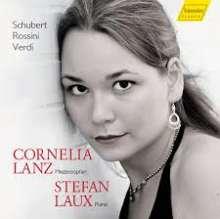 Cornelia Lanz & Stefan Laux - Schubert / Rossini / Verdi, CD