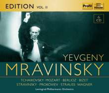 Yevgeni Mravinsky Edition Vol.2, 6 CDs