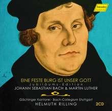 Gächinger Kantorei - Ein feste Burg ist unser Gott (Bach und Luther), 2 CDs