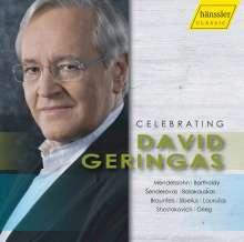 David Geringas - Celebrating David Geringas, CD