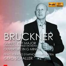 Anton Bruckner (1824-1896): Streichquintett F-Dur für großes Orchester, CD