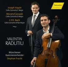 Wolfgang Amadeus Mozart (1756-1791): Cellokonzert D-Dur nach dem Hornkonzert KV 447, CD