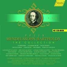 Felix Mendelssohn Bartholdy (1809-1847): Felix Mendelssohn Bartholdy - The Collection (Hänssler Classic), 45 CDs