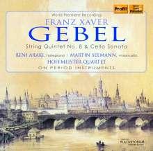 Franz Xaver Gebel (1787-1843): Sonate für Cello & Klavier Es-Dur, CD