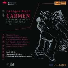 Georges Bizet (1838-1875): Carmen (in deutscher Sprache), 3 CDs