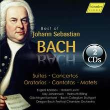 Johann Sebastian Bach (1685-1750): Best of Bach - Sampler zur kompletten Bach-Edition der Bachakademie Stuttgart, 2 CDs