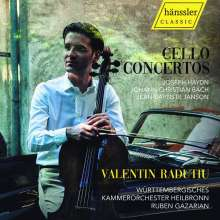 Valentin Radutio - Cello Concertos, CD