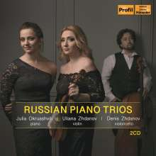 Russian Piano Trios, 2 CDs