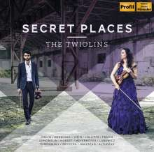 The Twiolins - Secret Places, CD
