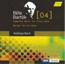 Bela Bartok (1881-1945): Das Klavierwerk Vol. 4, CD