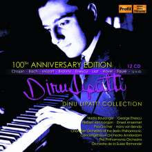Dinu Lipatti - 100th Anniversary Edition, 12 CDs