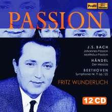 Fritz Wunderlich - Passion, 12 CDs