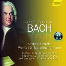 Johann Sebastian Bach (1685-1750): Sämtliche Werke für Tasteninstrumente (Cembalo / Klavier), 26 CDs