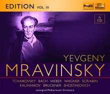 Yevgeni Mravinsky Edition Vol.3, 6 CDs