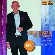 Anton Bruckner (1824-1896): Symphonien Nr.0-9, 18 CDs