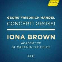 Georg Friedrich Händel (1685-1759): Concerti grossi op.3 Nr.1-6 & op.6 Nr.1-12 (Exklusiv für jpc), 4 CDs