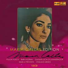 Maria Callas Edition (Profil), 12 CDs