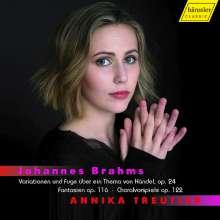 Johannes Brahms (1833-1897): Händel-Variationen op.24, CD
