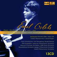 Emil Gilels Edition 1933-1963, 13 CDs