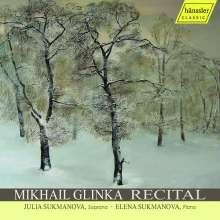 """Michael Glinka (1804-1857): Lieder """"Recital"""", CD"""