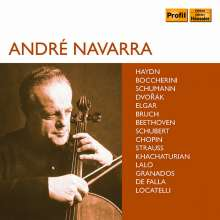 Andre Navarra - Edition (Profil), 10 CDs