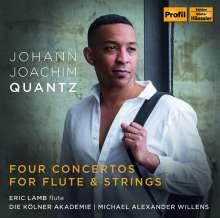 Johann Joachim Quantz (1697-1773): Flötenkonzerte Es-Dur,E-Dur,e-moll,g-moll, CD