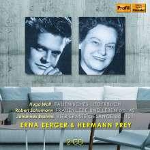 Erna Berger & Hermann Prey singen Wolf,Schumann,Brahms, CD