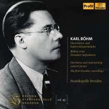 Karl Böhm dirigiert die Staatskapelle Dresden, 2 CDs