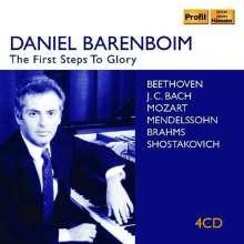 Daniel Barenboim – The First Step of Glory, 4 CDs