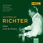 Svjatoslav Richter plays Chopin & Liszt live in Moscow 1948-1963, 12 CDs