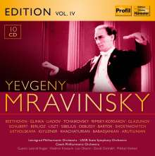 Yevgeni Mravinsky Edition Vol.4, 10 CDs