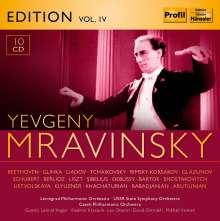 Yevgeni Mravinsky Edition Vol.4, 10 CDs