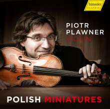 Piotr Plawner - Polish Miniatures, CD