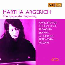 Martha Argerich - The Successful Beginning, 4 CDs