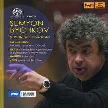 Semyon Bychkov & WDR Sinfonieorchester, 9 Super Audio CDs