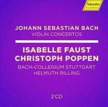 Johann Sebastian Bach (1685-1750): Violinkonzerte BWV 1041-1043,1052,1056,1064, 2 CDs