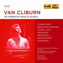 Van Cliburn - An American Wins In Russia, 10 CDs