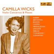 Camilla Wicks - Violin Concertos & Pieces, 4 CDs