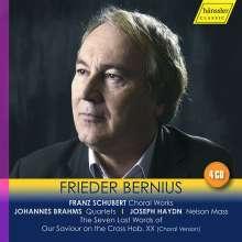 Frieder Bernius - Chorwerke von Schubert,Brahms,Haydn, 4 CDs