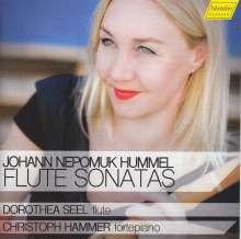 Johann Nepomuk Hummel (1778-1837): Sonaten für Flöte & Klavier op.2 Nr.2, op.50 & op.64, CD