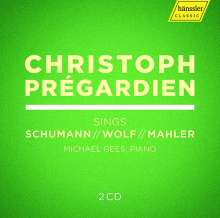 Christoph Pregardien singt Schumann, Wolf, Mahler, 2 CDs