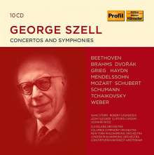 George Szell - Concertos and Symphonies, 10 CDs