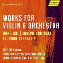 Joseph Kaminski (1903-1972): Violinkonzert, CD