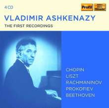 Vladimir Ashkenazy - The First Recordings, 4 CDs