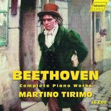 Ludwig van Beethoven (1770-1827): Sämtliche Klavierwerke, 16 CDs