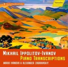 Michail Ippolitow-Iwanow (1859-1935): Transkriptionen für Klavier 4-händig, CD