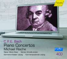 Carl Philipp Emanuel Bach (1714-1788): Klavierkonzerte Wq.14,17,20,22,23,26,31,44,46, 4 CDs