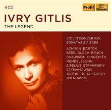 Ivry Gitlis - The Legend, 4 CDs