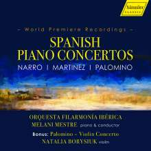 Classical Spanish Piano Concertos, CD