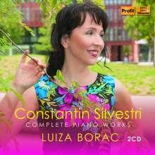 Constantin Silvestri (1931-1969): Sämtliche Klavierwerke, 2 CDs